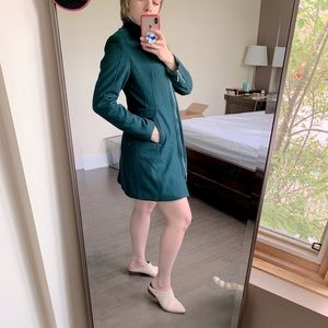 H&M Green Pea Coat